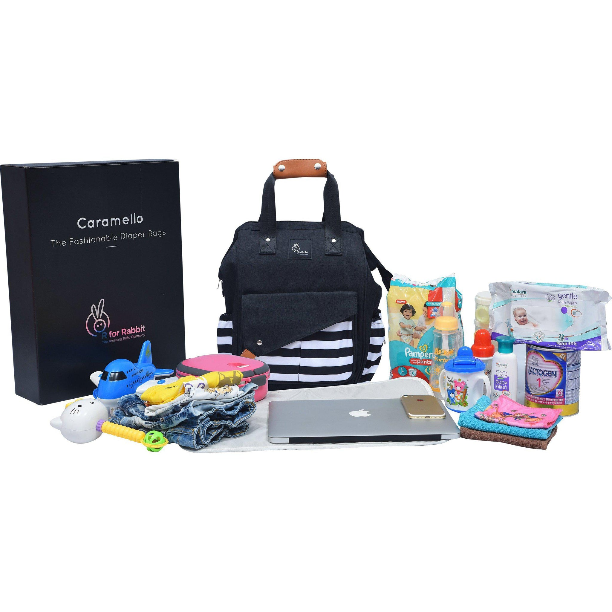 R for Rabbit Caramello Delight Diaper Bags- Smart and Fashionable Diaper Bag for Moms