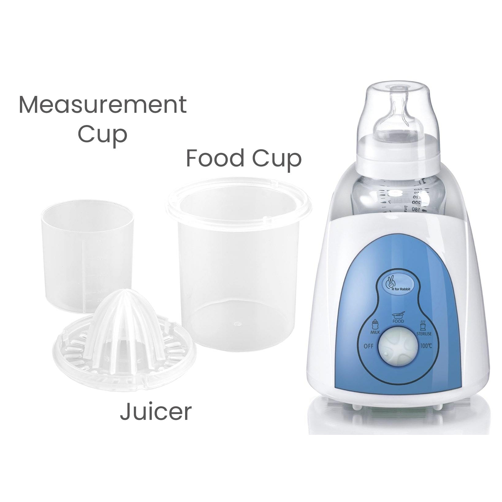 R for Rabbit Hot Bot - 5 in 1 Multi-Functional Baby Bottle Warmer