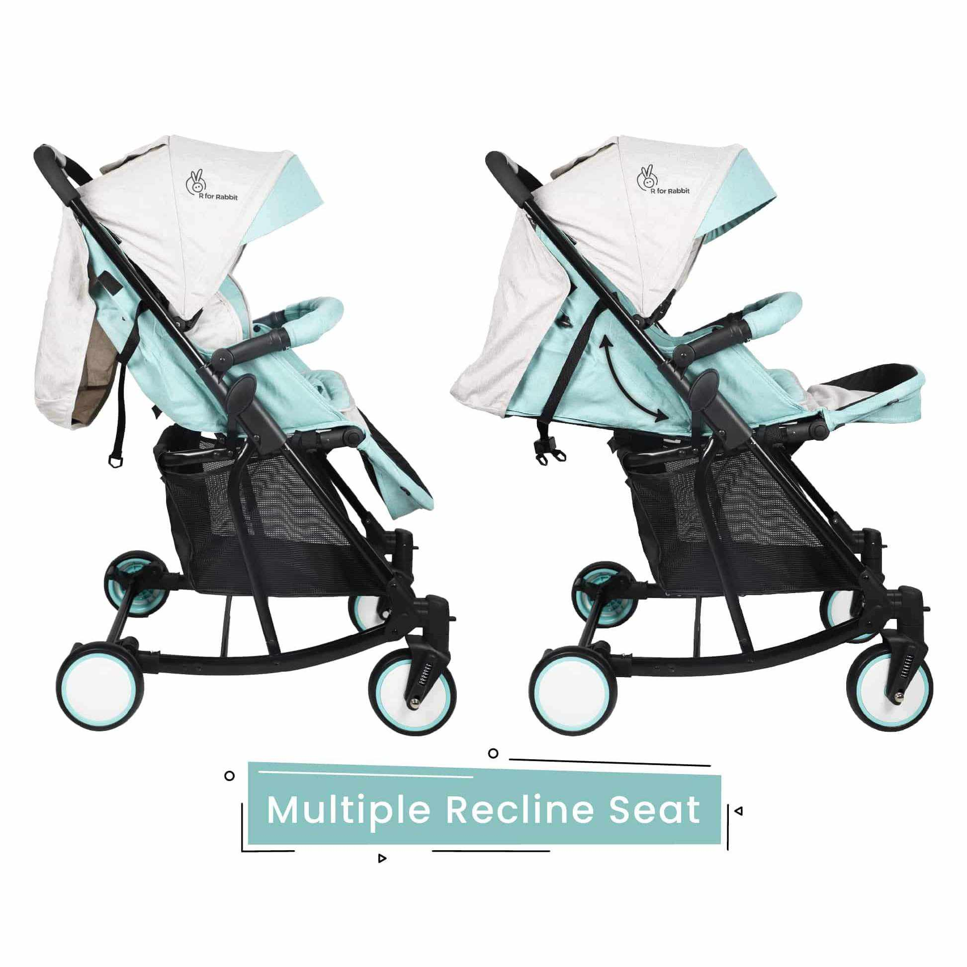 R for Rabbit Rock N Roll - The Rocking Baby Stroller and Pram for Babies