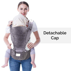 R for Rabbit Upsy Daisy Cool Hip Seat Baby Carrier for New Parents