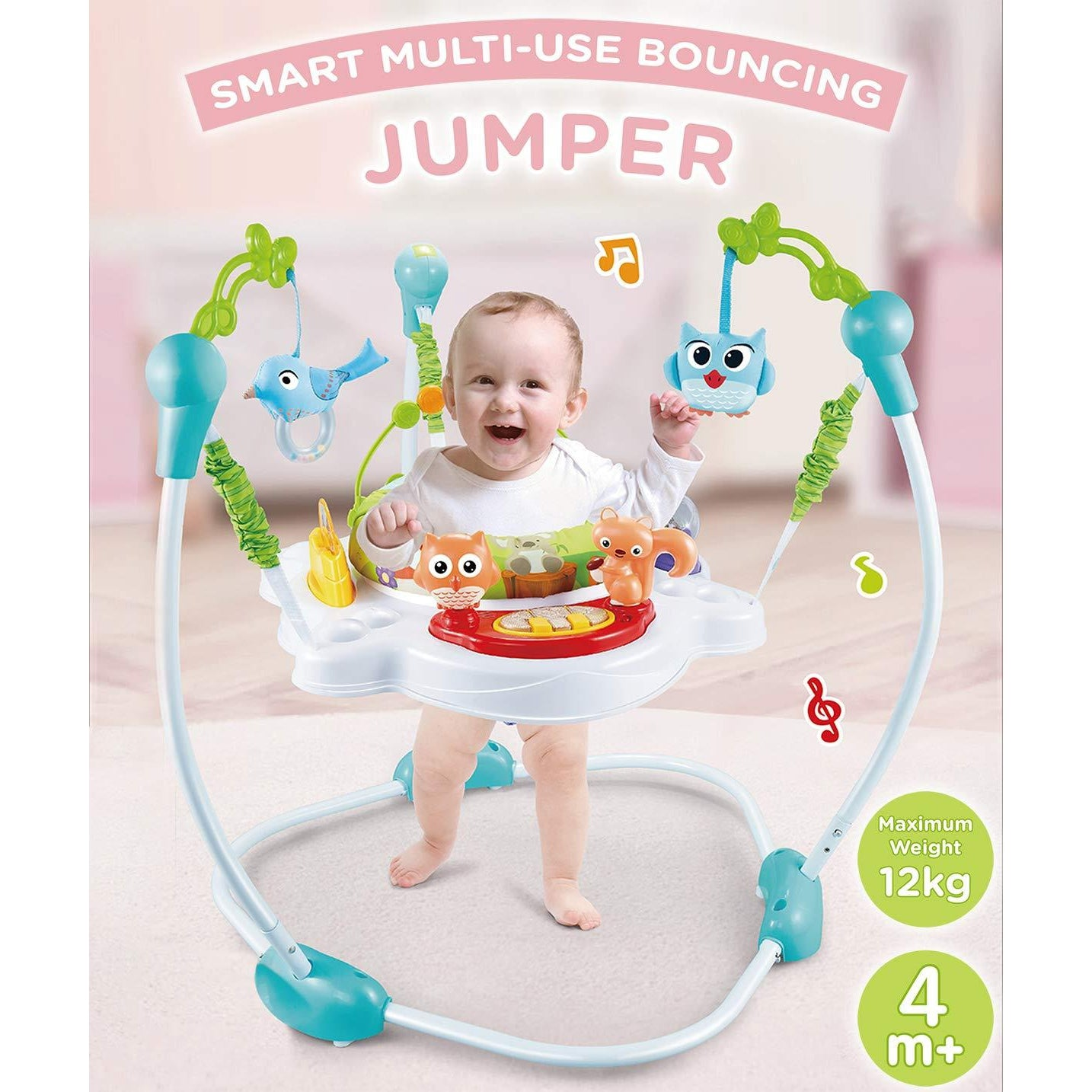 R for Rabbit Kangaroo Multi Use Baby Jumper Bouncer for babies