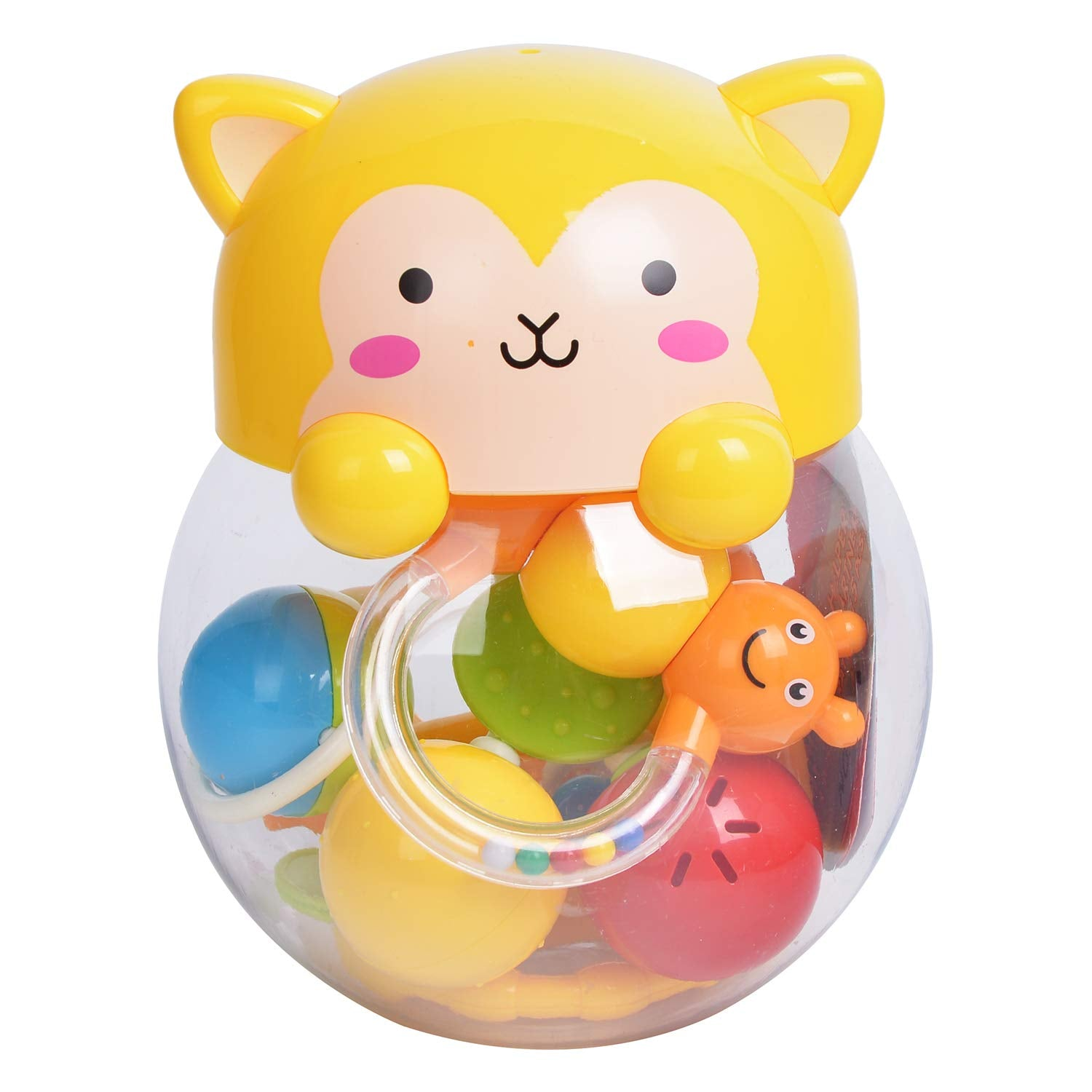 Orapple Kitty Rattle Set Musical Sound for Babies of 0 months plus