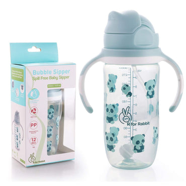 R for Rabbit Bubble Sipper Bottle for Babies of 1 Years Plus