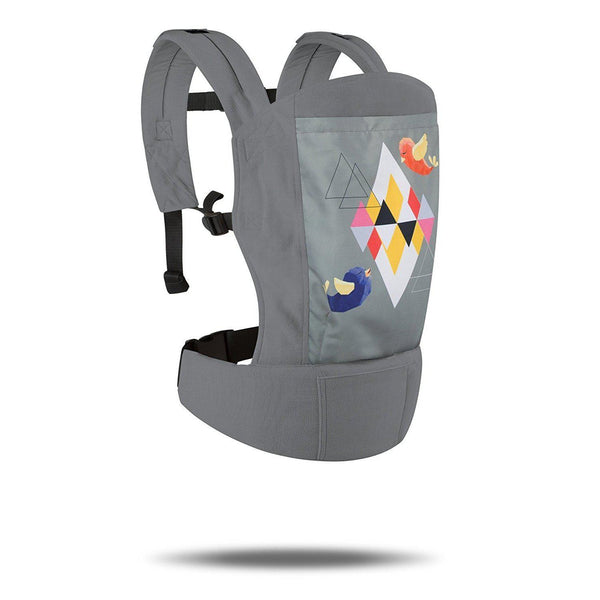 R for Rabbit Hug Me Elite - The Ergonomic Baby Carrier (Grey)