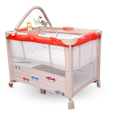 R for Rabbit Hide and Seek  Smart Folding Baby Bed Cot