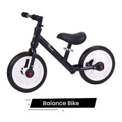 R for Rabbit Tiny Toes Trainer Plus Balance Bike  Multi Purpose 2 in 1 Balance Cycle Tricycle for Kids