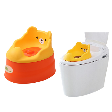Tiny Tots – Adaptable Potty Training Seat (Orange Red) , Baby Potty Seat - R for Rabbit, R for Rabbit - The Amazing Baby Company - 1