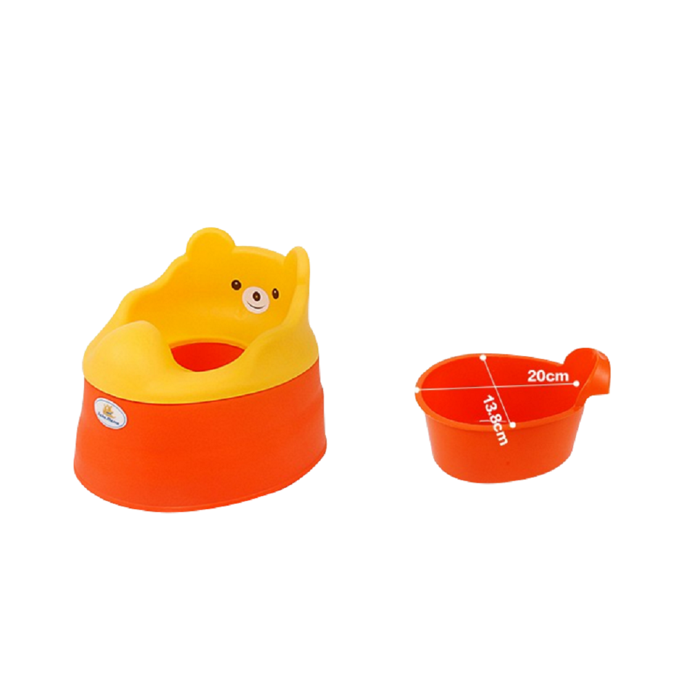 Tiny Tots – Adaptable Potty Training Seat (Orange Red) , Baby Potty Seat - R for Rabbit, R for Rabbit - The Amazing Baby Company - 9