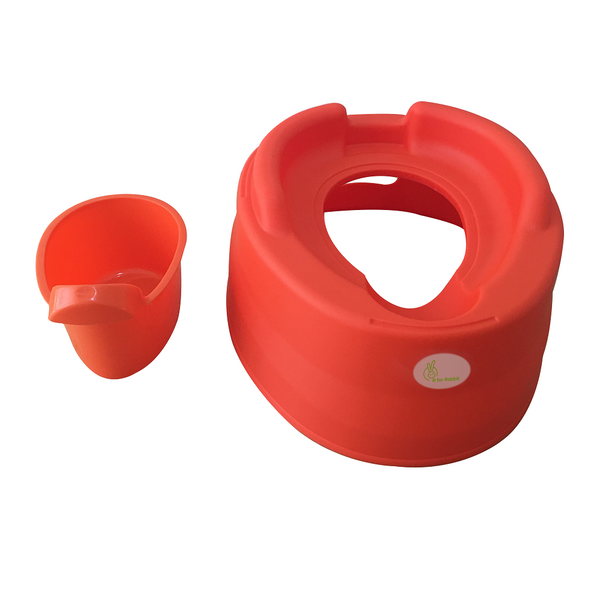 Tiny Tots – Adaptable Potty Training Seat (Orange Red) , Baby Potty Seat - R for Rabbit, R for Rabbit - The Amazing Baby Company - 10