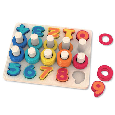 Orapple Count N Stack Stacking Toy for Kids