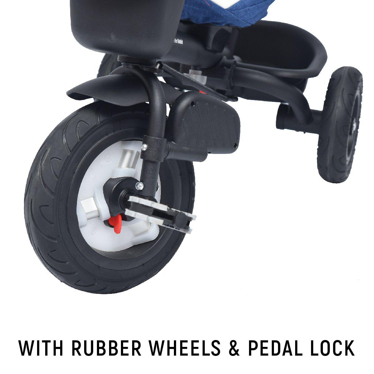 R for Rabbit Tiny Toes Benz– The Stylish and Luxurious Tricycle for Kids of 1.5 to 5 years age