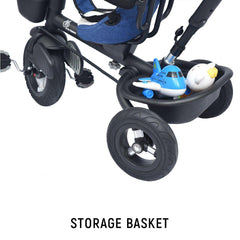 R for Rabbit Tiny Toes Benz Baby Tricycle for Kids Stylish & Luxurious Trike