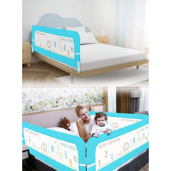 R for Rabbit Safeguard Bed Rails Single Side of Bed Kids Size of 6 Feet into 2.3 Feet Pack of 1