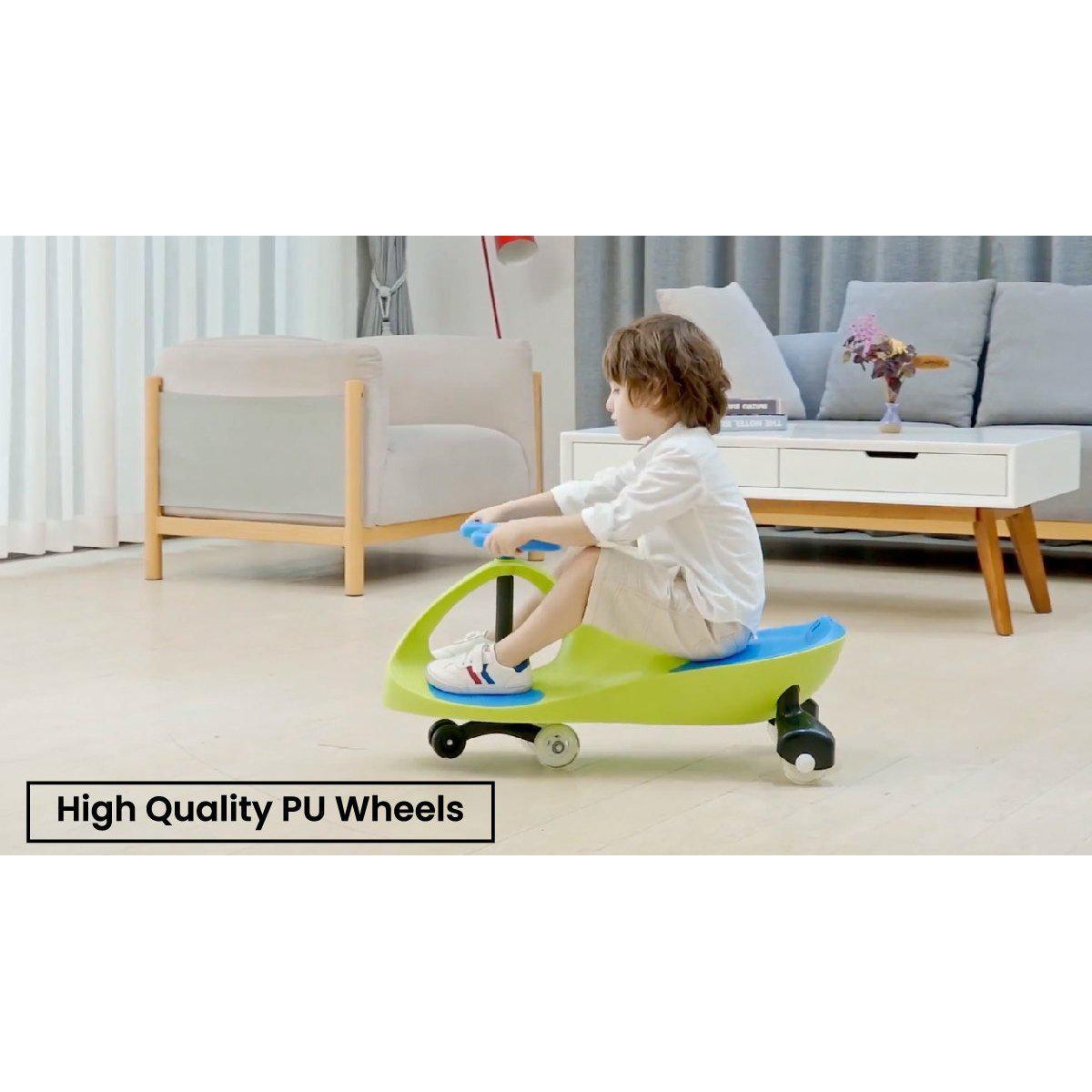 R for Rabbt Iya Iya Smooth & Strong Swing Car Baby Magic/Twister Car for Kids