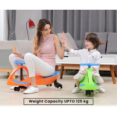 R for Rabbt Iya Iya Smooth & Strong Swing Car Baby Magic/Twister Carfor Kids