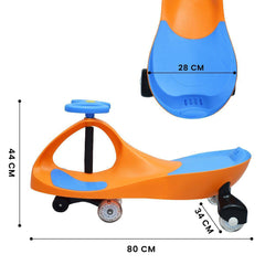 R for Rabbt Iya Iya Swing Car for Kids- Smooth & Strong Baby Magic/Twister Car for Babies