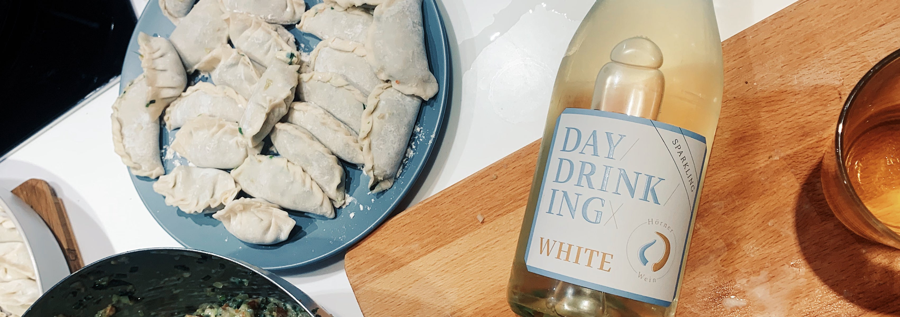 Food Friday | Wine & Dumplings