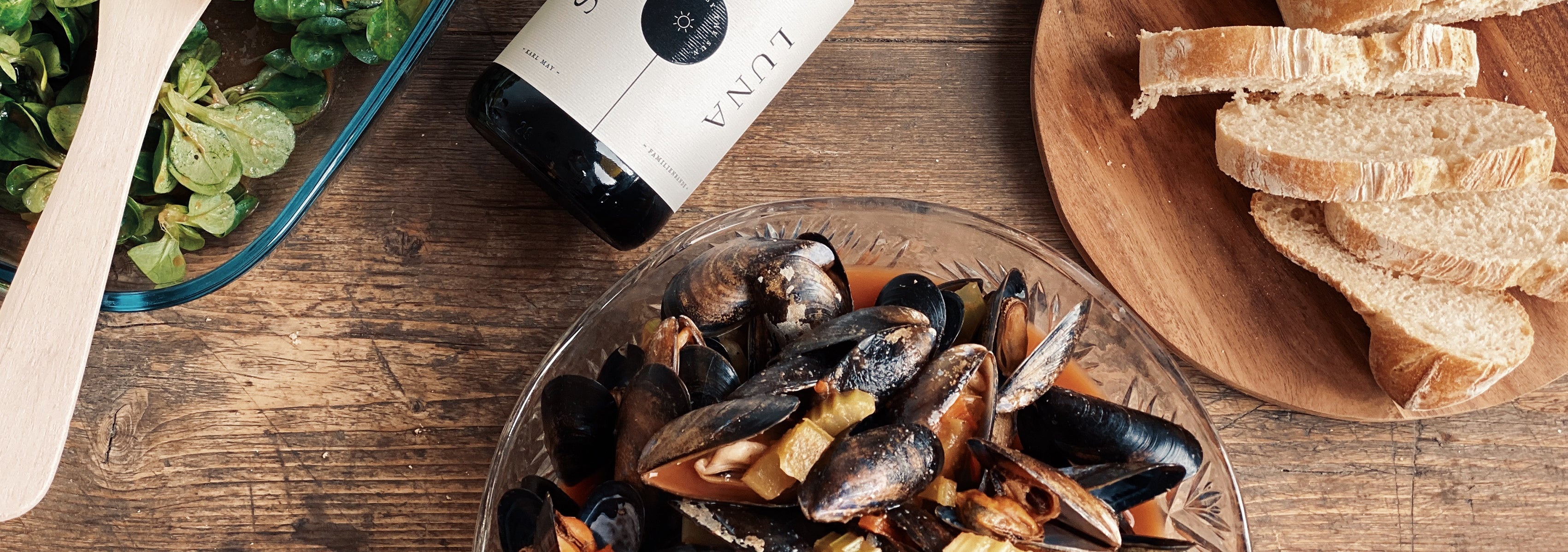 Food Friday | Mussels & Wine