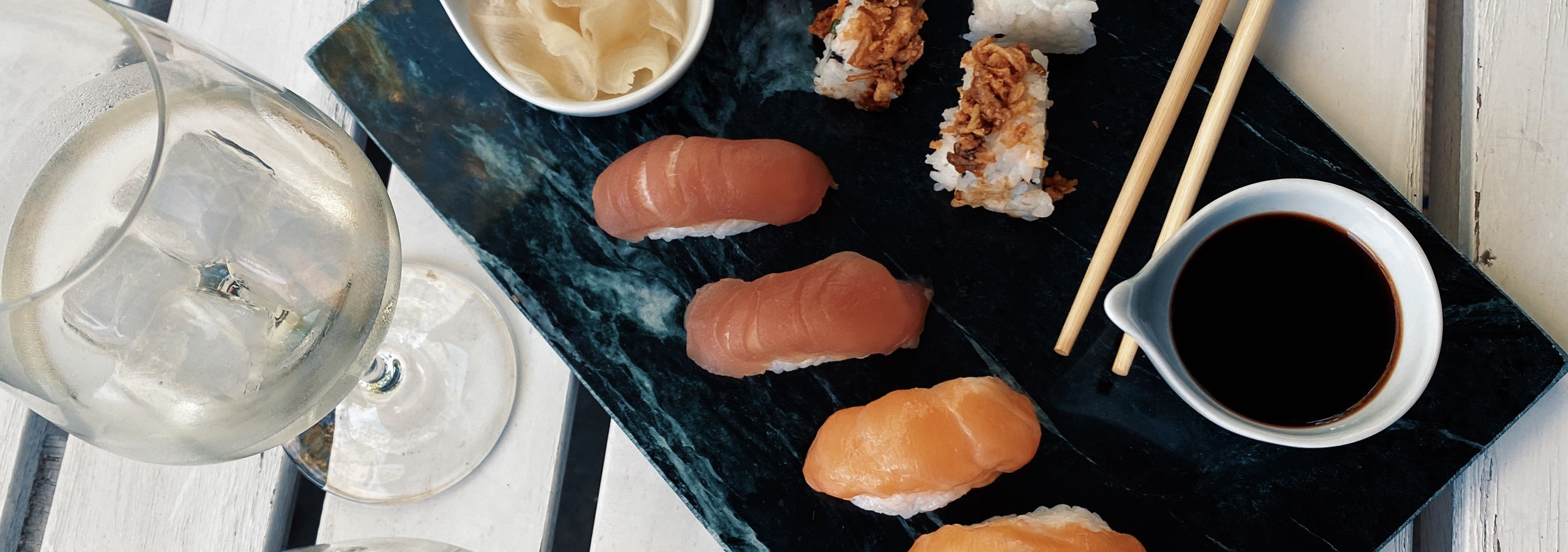 Food Friday | Wine & Sushi