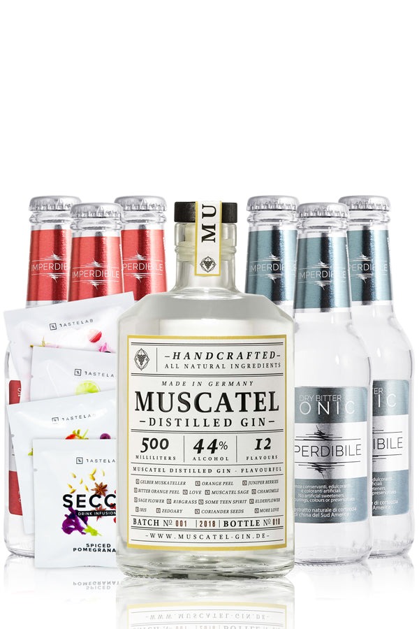 Muscatel Distilled Gin & Tonic Box