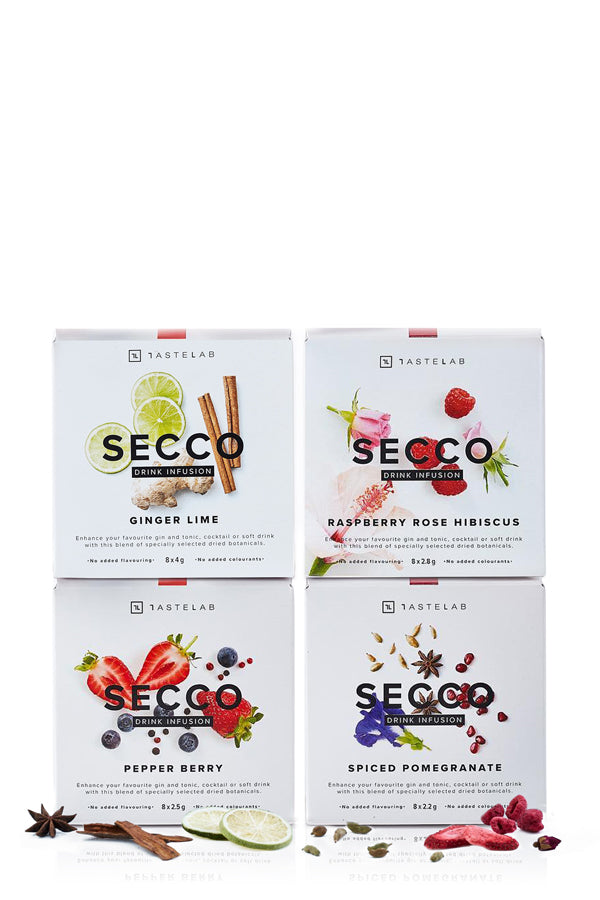 Secco Drink Infusions - 4 Pack