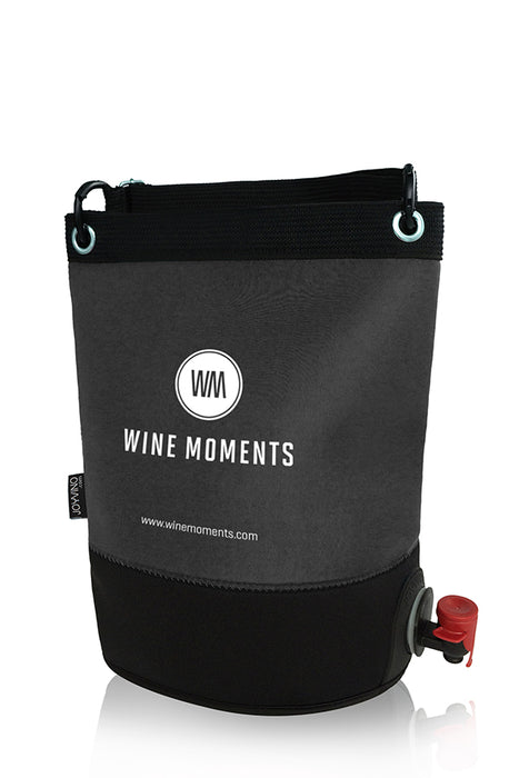 WINE MOMENTS Outdoor Wine Bag (Grey)