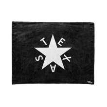 Black 1st Republic of Texas Flag Stadium Blanket