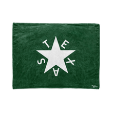 Green 1st Republic of Texas Flag Stadium Blanket