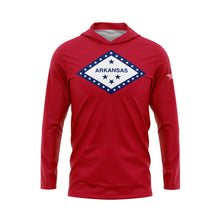 Arkansas Flag Performance Fleece Hoodie