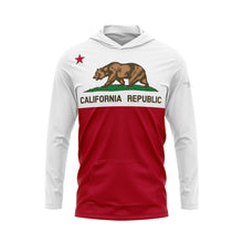 California Flag Performance Fleece Hoodie