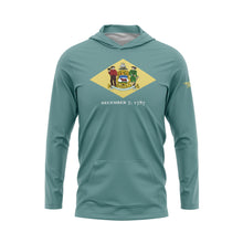 Delaware Flag Performance Fleece Hoodie