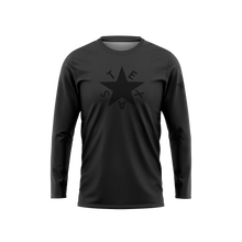 Dark First Republic of Texas Flag Long Sleeve Performance Shirt
