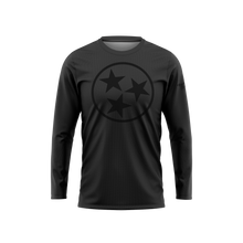 Dark 3 Stars Long Sleeve Performance Shirt