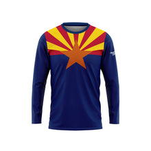 Arizona Flag Long Sleeve Performance Shirt