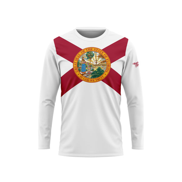 Florida Flag Long Sleeve Performance Shirt