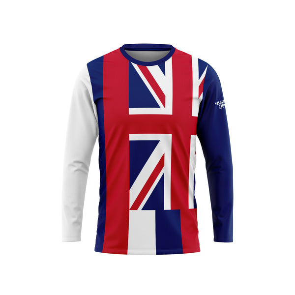 Hawaii Flag Long Sleeve Performance Shirt