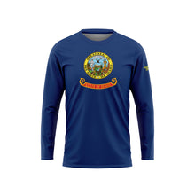 Idaho Flag Long Sleeve Performance Shirt