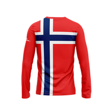 Norway Flag Long Sleeve Performance Shirt