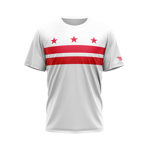 Washington DC Flag Performance Shirt