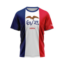 Iowa Flag Performance Shirt