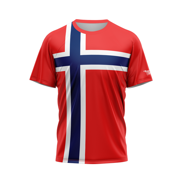 Norway Flag Performance Shirt