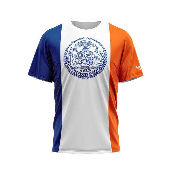 New York City Flag Performance Shirt