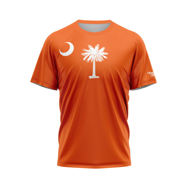 Orange South Carolina Flag Performance Shirt
