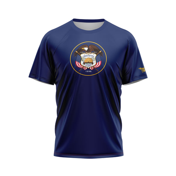 Utah Flag Performance Shirt