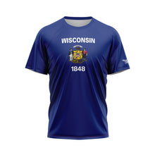 Wisconsin Flag Performance Shirt