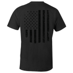 Dark Flag Heathered Charcoal Tee