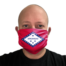 Arkansas Flag Face Mask