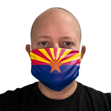 Arizona Flag Face Mask