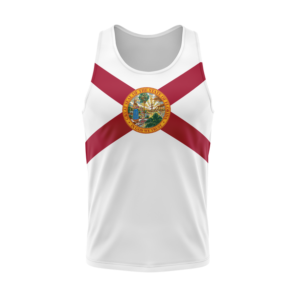 Florida Flag Full Back Performance Tank