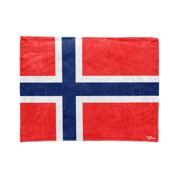 Norway Flag Stadium Blanket